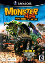 Monster 4x4: Masters Of Metal GameCube cover (GMZE41)