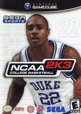 NCAA College Basketball 2K3 GameCube cover (GNKE8P)