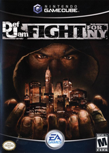 Def Jam: Fight For NY GameCube cover (GNWE69)