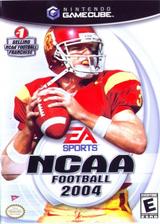 NCAA Football 2004 GameCube cover (GNXE69)