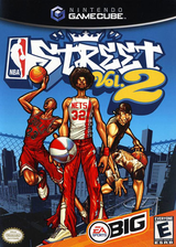 NBA Street Vol.2 GameCube cover (GNZE69)