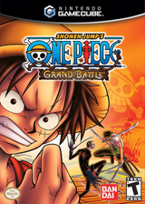Shonen Jump's One Piece: Grand Battle GameCube cover (GOPEB2)
