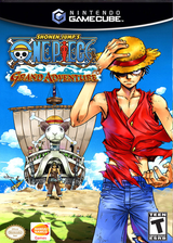 One Piece: Grand Adventure GameCube cover (GOQE82)