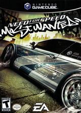 Need for Speed: Most Wanted GameCube cover (GOWE69)