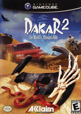 Dakar 2: The World's Ultimate Rally GameCube cover (GPDE51)