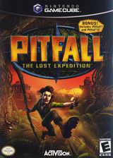 Pitfall: The Lost Expedition GameCube cover (GPHE52)