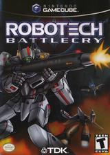 Robotech: Battlecry GameCube cover (GRBE6S)