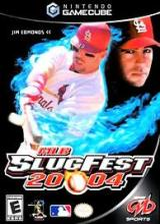 MLB SlugFest 2004 GameCube cover (GS7E5D)
