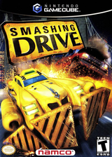 Smashing Drive GameCube cover (GSDEAF)