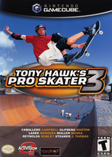 Tony Hawk's Pro Skater 3 GameCube cover (GT3E52)