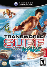 Transworld Surf: Next Wave GameCube cover (GTVE70)