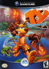 Ty the Tasmanian Tiger GameCube cover (GTYE69)