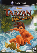 Tarzan Untamed GameCube cover (GTZE41)