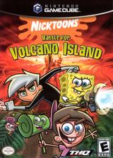 Nicktoons - Battle for Volcano Island GameCube cover (GU6E78)