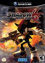 Shadow the Hedgehog GameCube cover (GUPE8P)