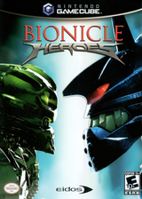 Bionicle Heroes GameCube cover (GVHE4F)