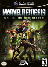 Marvel Nemesis: Rise of the Imperfects GameCube cover (GVLE69)