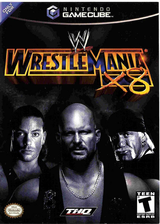 WWE WrestleMania X8 GameCube cover (GW3E78)
