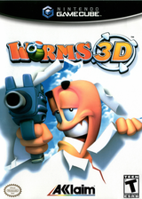 Worms 3D GameCube cover (GWME51)