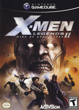X-Men Legends II: Rise of Apocalypse GameCube cover (GX2E52)