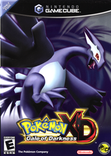 Pokémon XD: Gale of Darkness GameCube cover (GXXE01)
