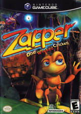 Zapper - One Wicked Cricket! GameCube cover (GZPE70)