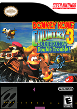 Donkey Kong Country 3: Dixie Kong's Double Trouble VC-SNES cover (JBPE)