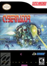 Cybernator VC-SNES cover (JBWE)