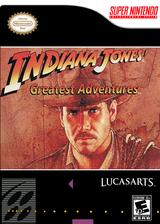 Indiana Jones' Greatest Adventures VC-SNES cover (JC4E)