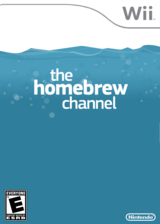 Homebrew Channel Channel cover (LULZ)