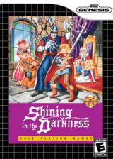 Shining in the Darkness VC-MD cover (MA7E)