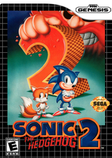Sonic the Hedgehog 2 VC-MD cover (MBBE)