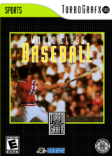 World Class Baseball VC-PCE cover (PCVE)