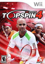 Top Spin 4 Wii cover (R28E54)