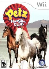 Petz Horse Club Wii cover (R2HE41)