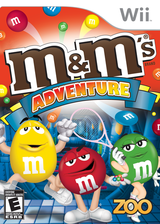 M&M's Adventure Wii cover (R2ME20)
