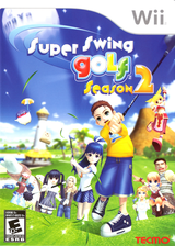 Super Swing Golf Season 2 Wii cover (R2PE9B)