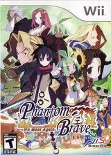 Phantom Brave: We Meet Again Wii cover (R46ENS)