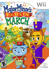 Major Minor's Majestic March Wii cover (R4NE5G)