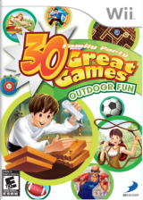 Family Party: 30 Great Games Outdoor Fun Wii cover (R63EG9)