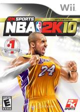 NBA 2K10 Wii cover (R76E54)