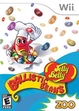 Jelly Belly Ballistic Beans Wii cover (R7BE20)