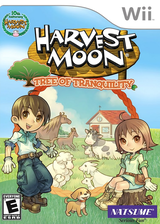 Harvest Moon: Tree of Tranquility Wii cover (R84EE9)