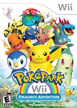 PokéPark Wii: Pikachu's Adventure Wii cover (R8AE01)
