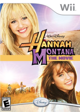 Hannah Montana: The Movie Wii cover (R8HE4Q)