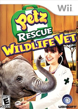 Petz Rescue: Wildlife Vet Wii cover (R8VE41)