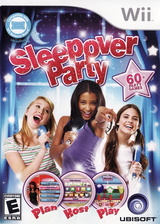 Sleepover Party Wii cover (R9LE41)