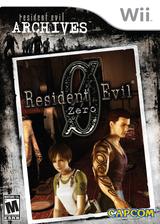 Resident Evil Archives: Resident Evil Zero Wii cover (RBHE08)