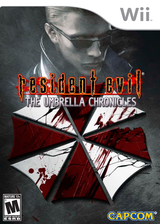 Resident Evil: The Umbrella Chronicles Wii cover (RBUE08)
