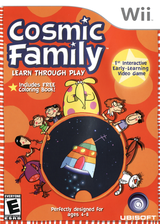 Cosmic Family Wii cover (RCFE41)